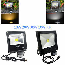 Led motion sensor flood light garden light 10W-50W daylight flood light