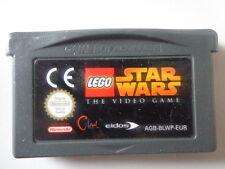 Gameboy Advance juego-Lego Star Wars the Video Game (módulo)