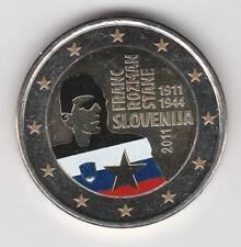 --  2 EURO COULEUR / SLOVENIE 2011AA -- FRANC ROZMAN