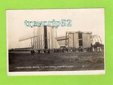 Airship Sheds RFC Royal Flying Corps Farnborough RP pc used 1916 Gale & Polden