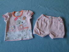 Baby Baby Gorgeous Little Girls Top and Pants Set, Size 000