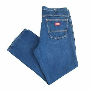 Vintage Dickies Jeans Blue 34W 29L Relaxed Straight Fit