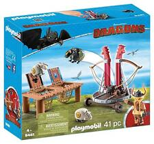 Playmobil Dragones 9461. Bocón con lanzadera de ovejas. Más de 4 años
