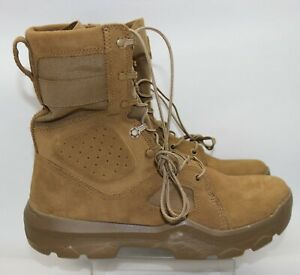 "Under Armour UA FNP Tactical Military Boots 1287352 728 Coyote 8"" AR670 Size 12"