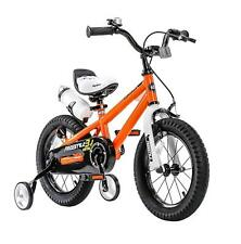"Royalbaby 14"" Boys Kids Training Balance Bike Child Bicycle Pedal Scooter Orange"