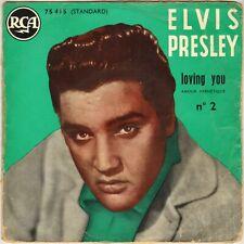 """ELVIS PRESLEY """"LOVING YOU"""" N° 2 50'S EP RCA 75.415"""