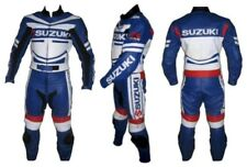 Suzuki GSXR Leather Motorbike Suit Racing Sports Motorcycle Cowhide Leather suit