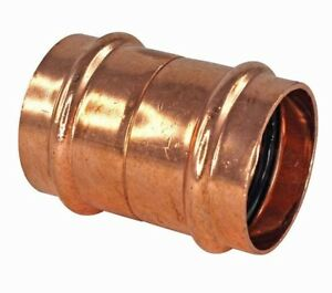 Conex Banninger B-PRESS WATER STRAIGHT CONNECTOR Copper- 32mm, 40mm Or 50mm