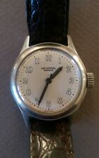 Vintage UNIVERSAL GENEVE Military Type Dial Men's Classic Stainless Watch