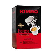 90 CIALDE CAFFE' KIMBO IN FILOCARTA ESE 44 MM MISCELA ESPRESSO NAPOLETANO OR