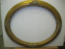 "Oval Picture frame  GOLD LEAF 16X20  moulding 2 1/2 ""inches"
