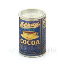 Maison de poupées miniature canette de Elkay Cacao poudre
