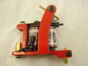 tattoo machines, red dragon colourer or shader ,,power supplies, set up ready