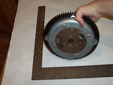 Vintage Mercury snowmobile flywheel and stator plate - Gk312