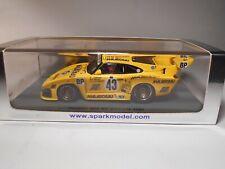 Spark (S2050) - 1/43 Scale - Porsche - 935 K3 - Le Mans - 1980 - #43 - MIB