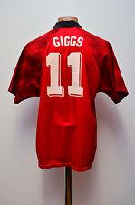 MANCHESTER UNITED ENGLAND 1996/1997/1998 HOME FOOTBALL SHIRT UMBRO GIGGS #11