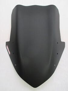 Fabbri Windscreen for Kawasaki Z1000SX 2011-2016, Black Satined (Matte Black)