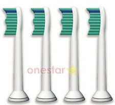 4x For Philips Sonicare HX6014 Proresults Standard Replacement Tooth Brush Heads