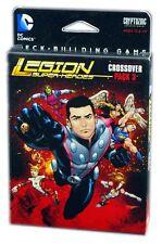 Cryptozoic Juegos Dc Comics Deck Building Crossover Pack 3 Legión Super Heroes