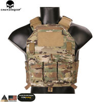 420 Plate Carrier Tactical Molle Vest Chest Rig Combat outdoor Airsoft Gear Camo