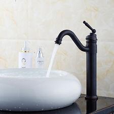 "13"" Oil Rubbed Bronze Bathroom Faucet Vessel One Hole/Handle Lavatory Mixer Taps"
