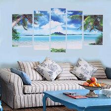 Modern Leinwandbild Bilder Ozean Strand Kunst Druck Zuhause Wand Gemälde Dekor