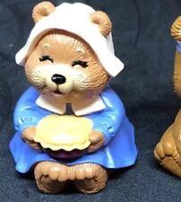 Hallmark Merry Miniatures Thanksgiving Bear - Momma