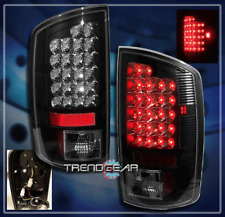 2007-2008 DODGE RAM 1500/2007-2009 2500 3500 TRUCK LED TAIL LIGHT LAMP BLACK SLT