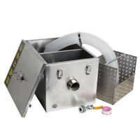 Commercial Grease Oil Trap Interceptor Stainless Steel Restaurant Industrial Use
