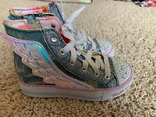 Girls Sketchers Twinkle Toes Limited Ed. Size 11 EUC