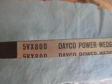 5VX800 DAYCO POWER-WEDGE V BELT COG-BELT V-BELTS CHEC MATE