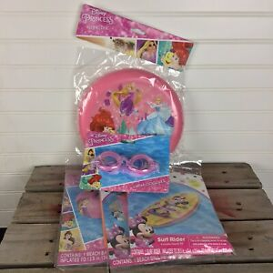 Lot Of 5 Girls Pool Beach Toys Disney Princess Minnie Mouse