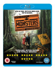 Monsters [Blu-ray], Good DVD, Whitney Able, Scoot McNairy, Gareth Edwards