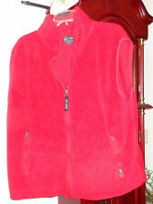 2XL XXL Mens Ladies Ivy Crew Vest Polar Fleece Jacket Zip Front Red Unisex