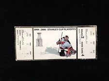 NEW JERSEY DEVILS 1999 2000 Stanley Cup Playoffs Ticket MARTIN BRODEUR Round 2