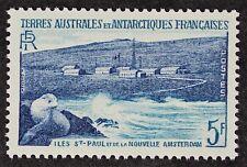 Z445 FSAT TAAF Fr. Southern Antarctic 1956 #4 New Amsterdam Mint NH