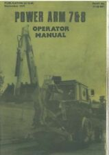 McCONNEL POWER ARM 7 & 8 OPERATORS MANUAL