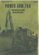 McCONNEL POWER ARM 7 & 8 OPERATORS MANUAL
