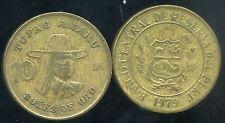 PEROU  10  soles de oro 1979