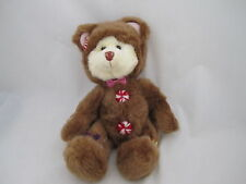 Russ Berrie Medium Cookie Gingerbread Man Bear Retired