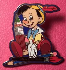 DISNEY PIN - PINOCCHIO Boy with Italian Tower Artist Choice 2000 WDW LE #1687