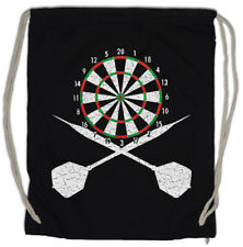 Darts Board And Crossed Darts Turnbeutel Sports Training Trainer Dart Arrows