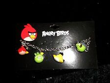 new  Official Angry Birds pigs and birds charm bracelet online gaming cartoons