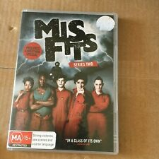MISFITS DVD. SERIES TWO. 2 DISCS.
