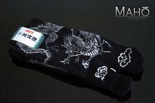 MADE IN JAPAN tabi split toe socks DRAGON ninja zori kimono flip flop 25-27cm