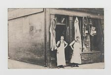 Saddlers Shop believed to be in HUCKNALL TORKARD Real Photo Postcard used 1907
