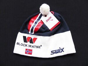 NEW !! UNISEX SWIX TRADITION TEAM NORWAY SKI WINTER HAT CAP SIZE: 58