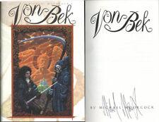 Michael Moorcock SIGNED AUTOGRAPHED Von Bek Omnibus HC 1st Edition 1st Print