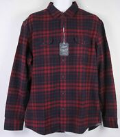 Grayers Men's Heritage Flannel Shirt, Size L, Red Plaid