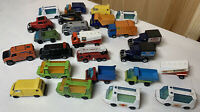 Lot Of 24 Vintage Matchbox Die cast Cars, Great Restoration Projects!
